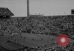 Image of football match East Lansing Michigan USA, 1958, second 8 stock footage video 65675055663