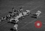 Image of football match East Lansing Michigan USA, 1958, second 12 stock footage video 65675055663