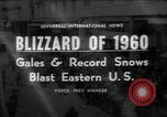 Image of blizzard New York United States USA, 1960, second 1 stock footage video 65675055679