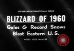 Image of blizzard New York United States USA, 1960, second 2 stock footage video 65675055679