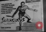 Image of premiere of Spartacus London England United Kingdom, 1960, second 9 stock footage video 65675055682