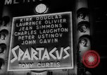 Image of premiere of Spartacus London England United Kingdom, 1960, second 11 stock footage video 65675055682