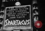 Image of premiere of Spartacus London England United Kingdom, 1960, second 12 stock footage video 65675055682