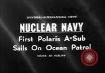 Image of Polaris missile Charleston South Carolina USA, 1960, second 1 stock footage video 65675055688