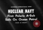Image of Polaris missile Charleston South Carolina USA, 1960, second 2 stock footage video 65675055688