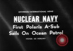 Image of Polaris missile Charleston South Carolina USA, 1960, second 3 stock footage video 65675055688