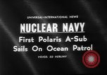 Image of Polaris missile Charleston South Carolina USA, 1960, second 5 stock footage video 65675055688