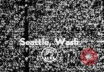 Image of American Football Seattle Washington USA, 1955, second 4 stock footage video 65675055714