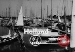 Image of International Dragon Boat Race Holland Netherlands, 1955, second 2 stock footage video 65675055715