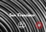 Image of Walkie Talkie San Francisco California USA, 1956, second 2 stock footage video 65675055719
