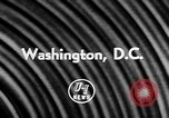 Image of Annual Beauty Pageant Washington DC USA, 1957, second 2 stock footage video 65675055724