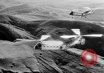 Image of Helicopters aid Algeria, 1957, second 5 stock footage video 65675055725