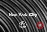 Image of All-Star College Basketball Game New York United States USA, 1957, second 5 stock footage video 65675055726