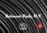 Image of Belmont Stakes New York United States USA, 1957, second 2 stock footage video 65675055732