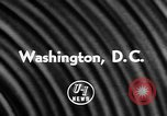 Image of Little League Baseball Team Washington DC USA, 1957, second 6 stock footage video 65675055735