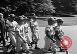 Image of Little League Baseball Team Washington DC USA, 1957, second 8 stock footage video 65675055735