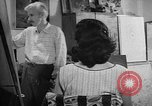 Image of Painter Trevisan Rome Italy, 1957, second 3 stock footage video 65675055737