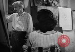 Image of Painter Trevisan Rome Italy, 1957, second 4 stock footage video 65675055737