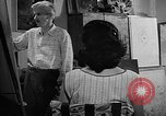 Image of Painter Trevisan Rome Italy, 1957, second 5 stock footage video 65675055737