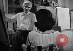 Image of Painter Trevisan Rome Italy, 1957, second 6 stock footage video 65675055737