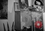 Image of Painter Trevisan Rome Italy, 1957, second 12 stock footage video 65675055737