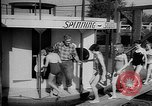 Image of spinning soccer boat Vancouver British Columbia Canada, 1957, second 6 stock footage video 65675055744