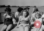 Image of spinning soccer boat Vancouver British Columbia Canada, 1957, second 12 stock footage video 65675055744