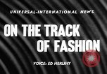 Image of Fashion Parade Belmont Park New York USA, 1957, second 2 stock footage video 65675055745