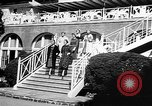 Image of Fashion Parade Belmont Park New York USA, 1957, second 7 stock footage video 65675055745