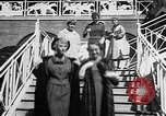 Image of Fashion Parade Belmont Park New York USA, 1957, second 9 stock footage video 65675055745