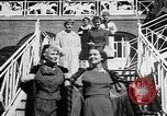Image of Fashion Parade Belmont Park New York USA, 1957, second 10 stock footage video 65675055745