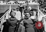 Image of Fashion Parade Belmont Park New York USA, 1957, second 11 stock footage video 65675055745