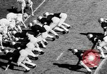 Image of American football West Point New York USA, 1957, second 4 stock footage video 65675055747