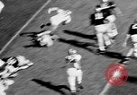 Image of American football West Point New York USA, 1957, second 6 stock footage video 65675055747