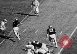 Image of American football West Point New York USA, 1957, second 7 stock footage video 65675055747