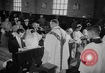 Image of marriage ceremony Ontario Canada, 1958, second 10 stock footage video 65675055749
