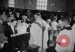 Image of marriage ceremony Ontario Canada, 1958, second 11 stock footage video 65675055749