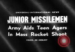 Image of Model rocketry launch Virginia United States USA, 1959, second 1 stock footage video 65675055761