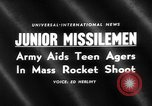 Image of Model rocketry launch Virginia United States USA, 1959, second 5 stock footage video 65675055761