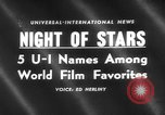 Image of Hollywood Film Foreign Press Awards United States USA, 1959, second 1 stock footage video 65675055762
