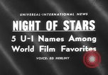 Image of Hollywood Film Foreign Press Awards United States USA, 1959, second 4 stock footage video 65675055762