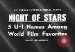 Image of Hollywood Film Foreign Press Awards United States USA, 1959, second 5 stock footage video 65675055762