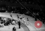 Image of Indoor Track Athletics New York United States USA, 1959, second 9 stock footage video 65675055766