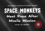 Image of space monkeys Cape Canaveral Florida USA, 1959, second 3 stock footage video 65675055767