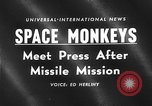 Image of space monkeys Cape Canaveral Florida USA, 1959, second 4 stock footage video 65675055767