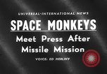 Image of space monkeys Cape Canaveral Florida USA, 1959, second 5 stock footage video 65675055767