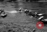 Image of White Water Racing Oregon United States USA, 1959, second 12 stock footage video 65675055769