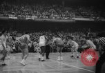Image of basketball match Boston Massachusetts USA, 1961, second 6 stock footage video 65675055779