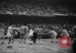 Image of basketball match Boston Massachusetts USA, 1961, second 7 stock footage video 65675055779