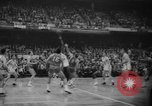 Image of basketball match Boston Massachusetts USA, 1961, second 8 stock footage video 65675055779